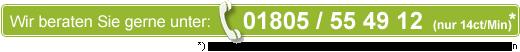 Golf-Fernmitfliedschaft Hotline 01805 55 49 12 (14ct/Min)